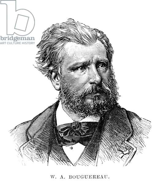 WILLIAM-ADOLPHE BOUGUEREAU (1825-1905). French painter. Engraving, English, 1883.