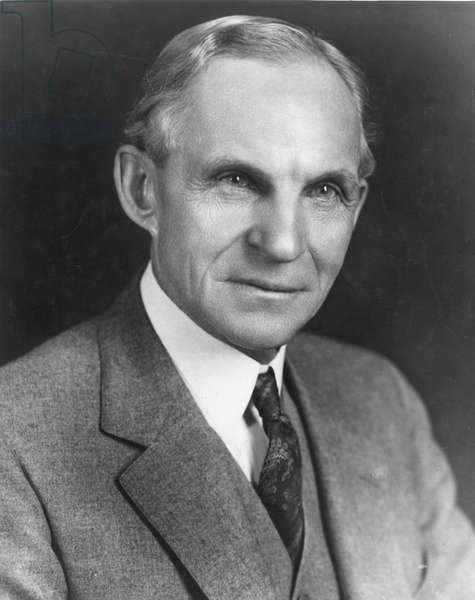 HENRY FORD (1863-1947). American automobile manufacturer.