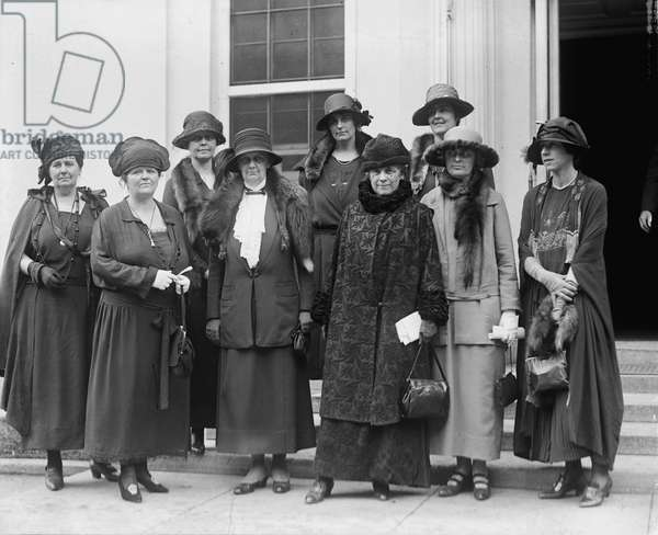 LEAGUE OF WOMEN VOTERS Meeting of the National League of Women Voters, 1923.