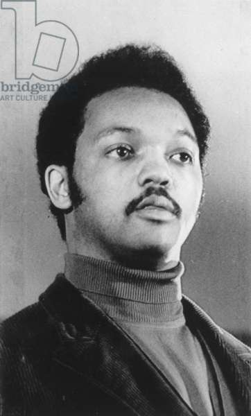 JESSE JACKSON (1941- ) American civil rights leader. Photographed in 1971.