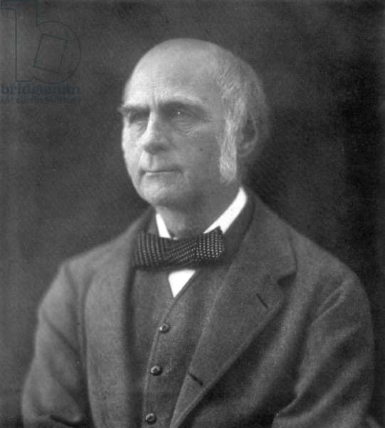 SIR FRANCIS GALTON (1822-1911). English scientist. Photographed in 1902.