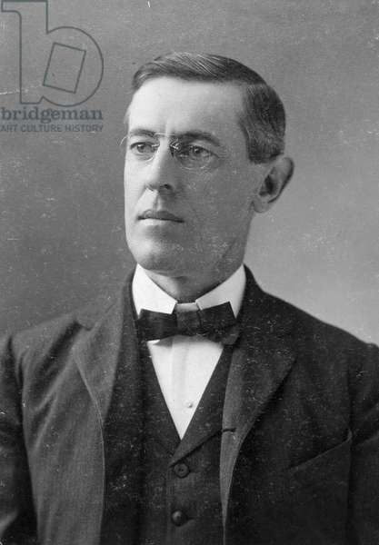 WOODROW WILSON (1856-1924) 28th President of the United States. Photographed in 1902 when Wilson had just assumed the presidency of Princeton University.