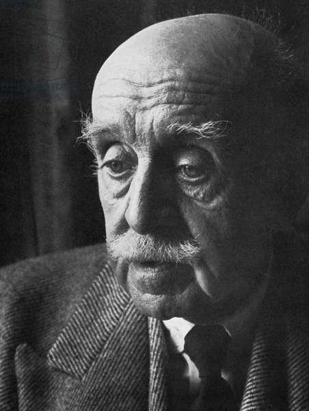 MAX BEERBOHM (1872-1956) English critic, essayist, and caricaturist.