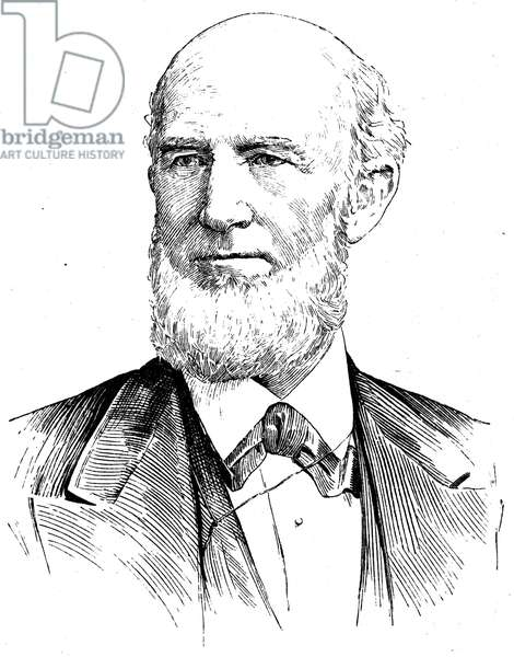 JAMES BUCHANAN EADS (1820-1887). American engineer and inventor. Line engraving, American, 19th century.