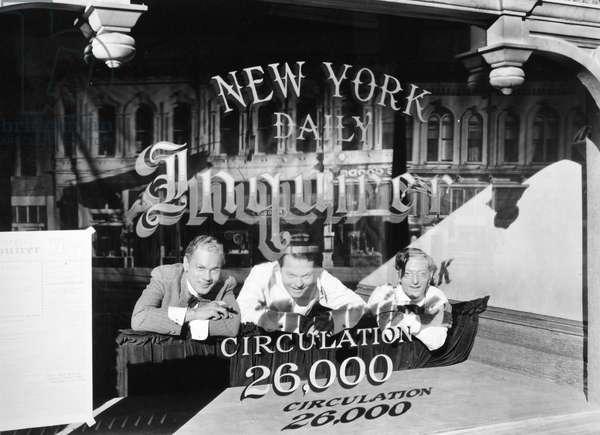 FILM: CITIZEN KANE, 1941 Joseph Cotten, Orson Welles, and Everett Sloane in a scene from the 1941 motion picture 'Citizen Kane.'