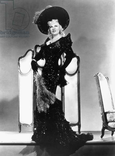 MAE WEST (1892-1980) American actress.