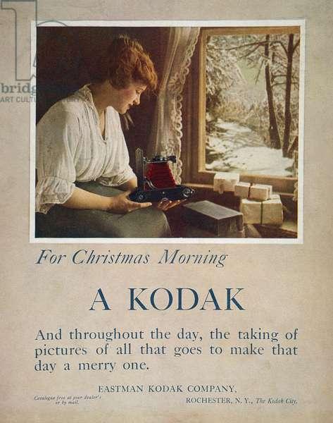 KODAK ADVERTISEMENT, 1914 For Kodak cameras from an American magazine.