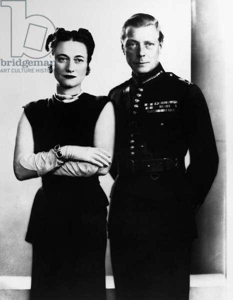 EDWARD VIII (1894-1972). King of Great Britain. The Duke and Duchess of Windsor, c.1940.