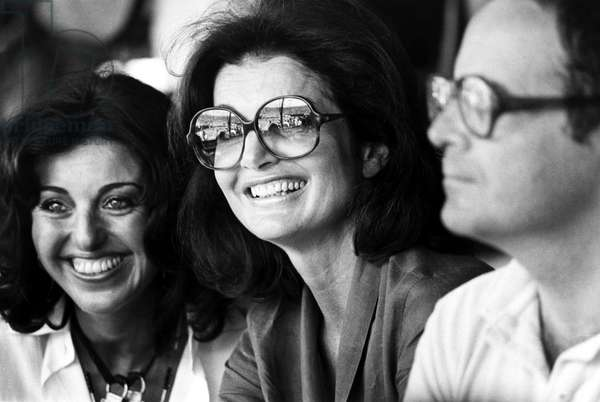 JACQUELINE KENNEDY ONASSIS (1929-1994). Wife of Aristotle Onassis and President John Fitzgerald Kennedy. Photographed 1978.