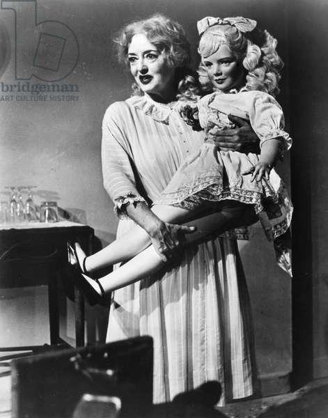 BETTE DAVIS (1908-1989) Bette Davis as Baby Jane Hudson in the film, 'Whatever Happened to Baby Jane,' 1962.