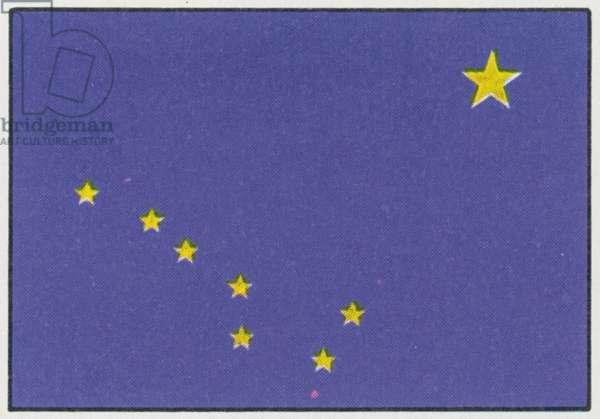 ALASKA: STATE FLAG.
