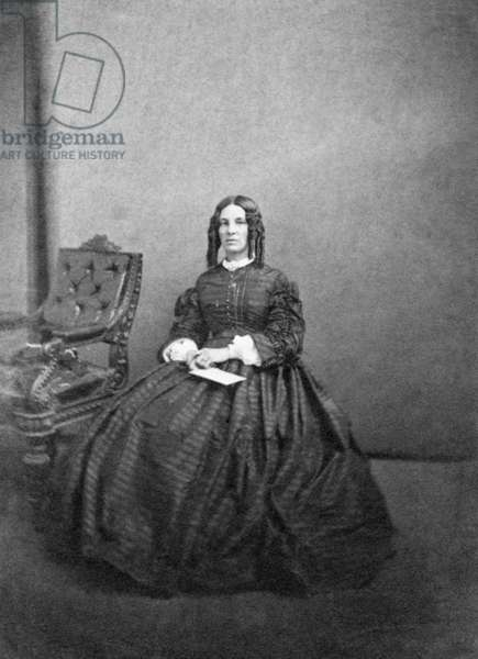 LOUISA MEIGS (1816-1879) American woman notable for her letters to her son during the Civil War. Photograph, 1861.