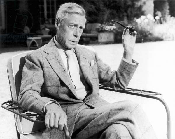 EDWARD VIII (1894-1972) King of Great Britain, 1936. At his Paris home in 1964.