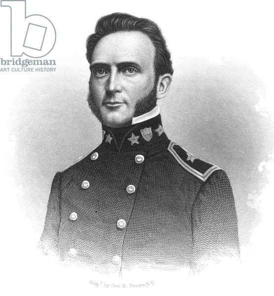 STONEWALL JACKSON (1824-1863). Thomas Jonathan 'Stonewall' Jackson. American Confederate general. Line and stipple engraving, 19th century.