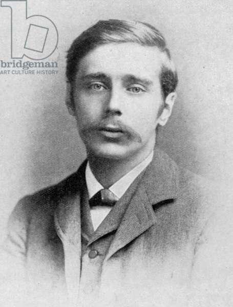 HERBERT GEORGE WELLS (1866-1946). English writer: photograph, c.1895.