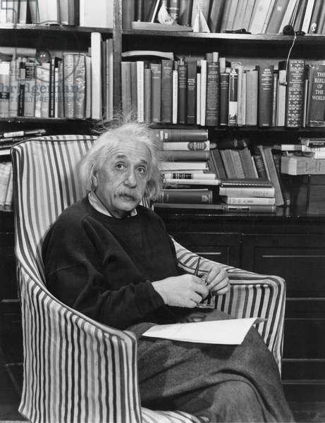 ALBERT EINSTEIN (1879-1955) American (German-born) theoretical physicist.