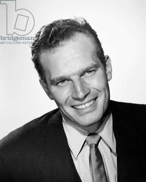 CHARLTON HESTON (1924-2008). American actor.