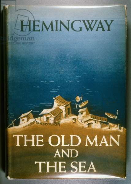 OLD MAN AND THE SEA, 1952 First edition of 'The Old Man and the Sea' by Ernest Hemingway, 1952.