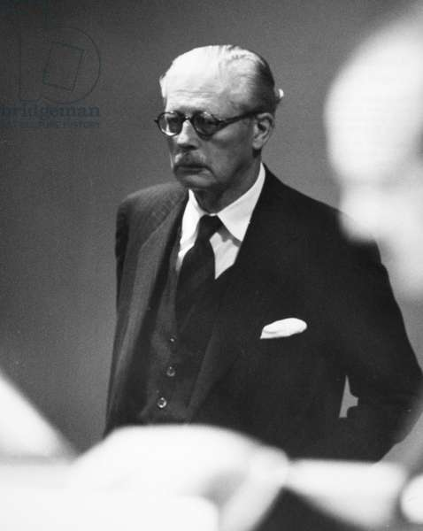 HAROLD MACMILLAN (1894-1986). English politician. Photographed 27 September 1960 at the General Assembly of the United Nations in New York City while he was Prime Minister.