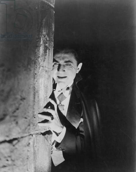 BELA LUGOSI AS DRACULA Bela Lugosi in Tod Browning's film version of