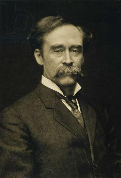 ROBERT E. PEARY (1856-1920) American explorer: photographed, c.1909.