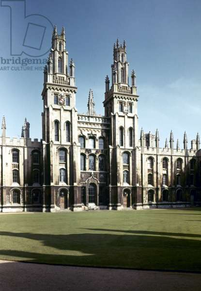 ENGLAND: ALL SOULS COLLEGE Oxford University.