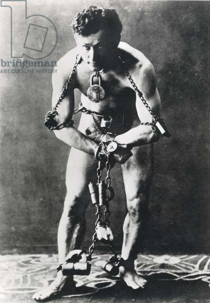HARRY HOUDINI (1874-1926). Nee Ehrich Weiss. American magician. Photographed in 1920.