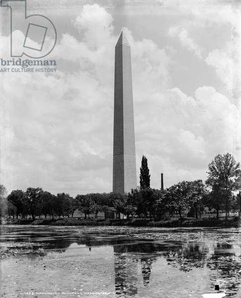 WASHINGTON MONUMENT, c.1904 The Washington Monument in Washington, D.C. Photograph, c.1904.