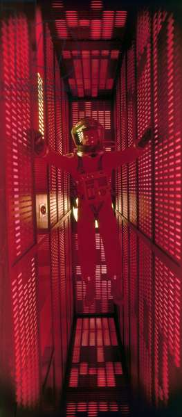 2001: A SPACE ODYSSEY, 1968 Keir Dullea as astronaut Dave Bowman in a scene from the film '2001: A Space Odyssey,' directed by Stanley Kubrick, 1968.