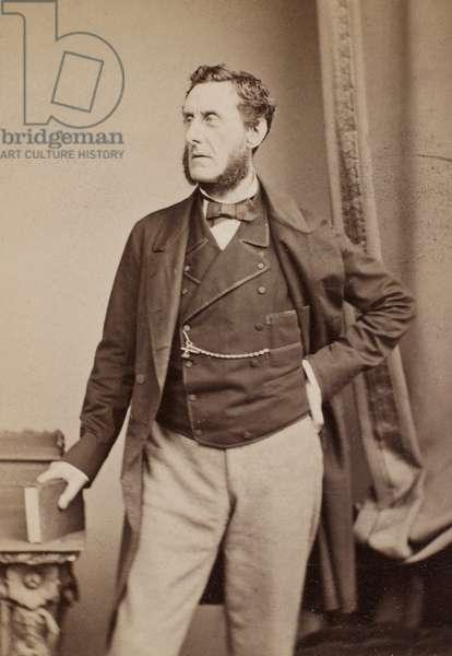 EARL OF SHAFTESBURY (1801-1885). 7th Earl of Shaftesbury, Anthony Ashley Cooper. English philanthropist and statesman. Photographed c.1865.