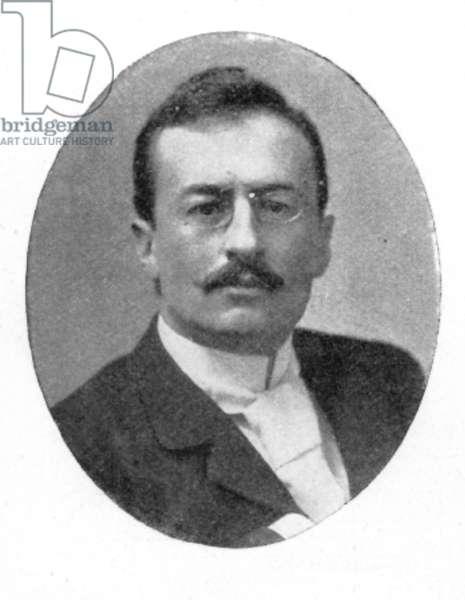 SVEN HEDIN (1865-1952) Swedish geographer and explorer.