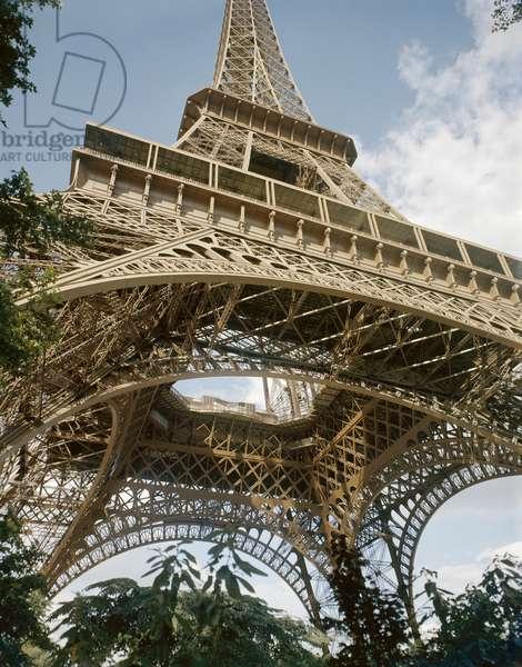 PARIS: EIFFEL TOWER Photograph, mid-20th century.