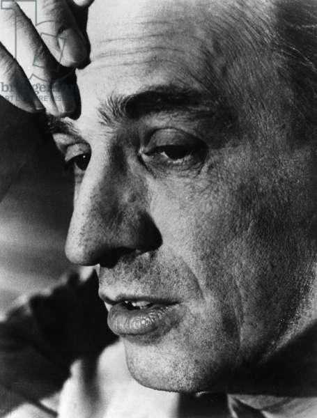 INGMAR BERGMAN (1918-2007) Swedish director and screenwriter. Photograph, c.1976.
