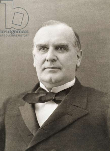 WILLIAM McKINLEY (1843-1901). 25th President of the United States. Photographed in 1896.
