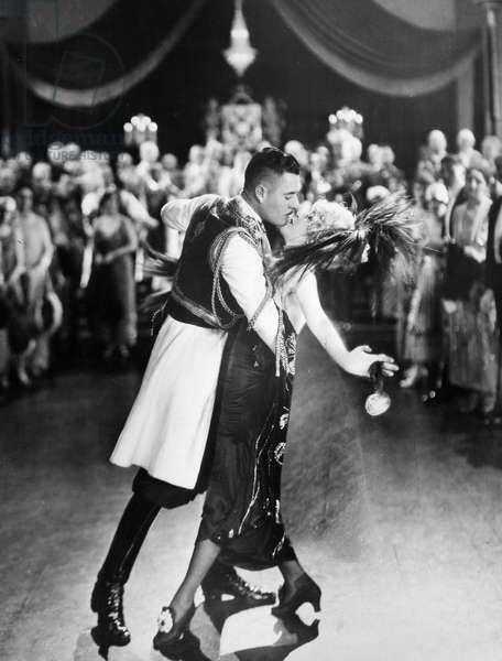 SILENT FILM STILL: DANCING.