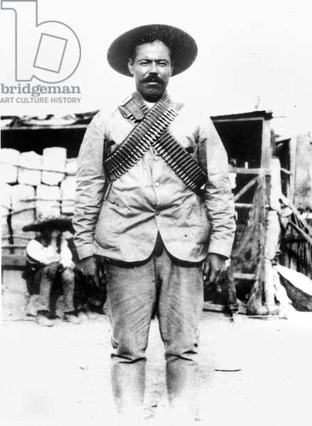 FRANCISCO 'PANCHO' VILLA (1878-1923). Mexican revolutionary leader. Photographed c.1914.