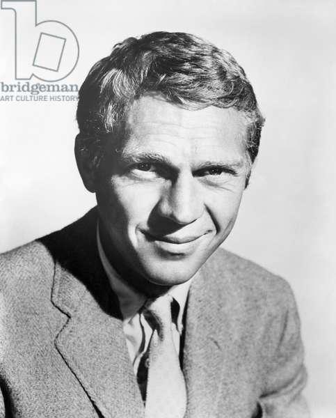 STEVE McQUEEN (1930-1980) American actor. Photograph, c.1970.