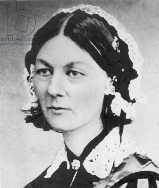 FLORENCE NIGHTINGALE (1820-1910). English nurse, hospital reformer, and philanthropist.