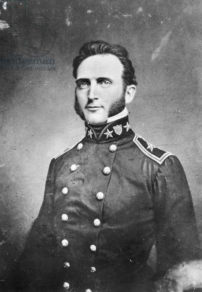 STONEWALL JACKSON (1824-1863). Thomas Jonathan 'Stonewall' Jackson. American Confederate general. Photographed during the Mexican War, 1846.