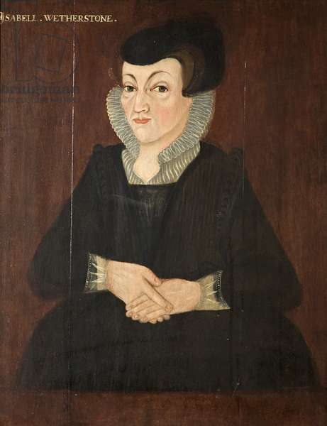 Isabell Wetherstone, c.1605 (oil on panel)