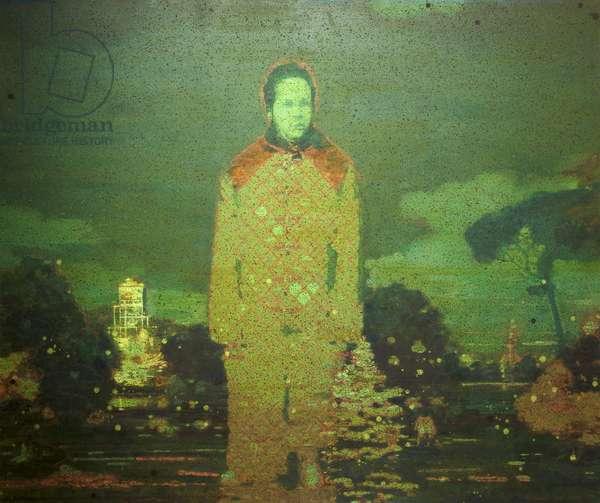 Dante II, 2000 (oil on canvas)