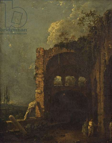 Maecenas's Villa Tivoli, c.1765 (oil on canvas)