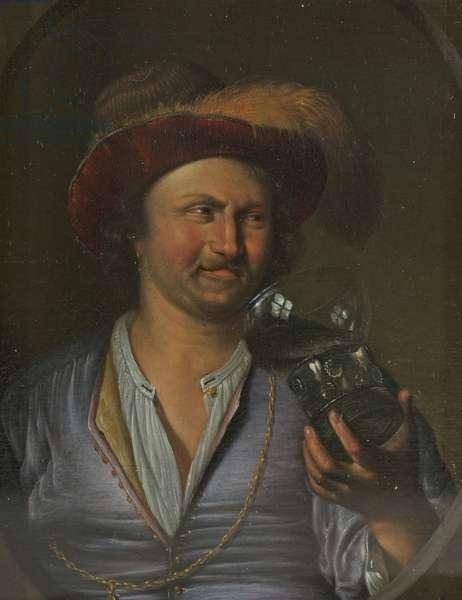 Portrait of a Man, c.1672-74 (oil on panel)