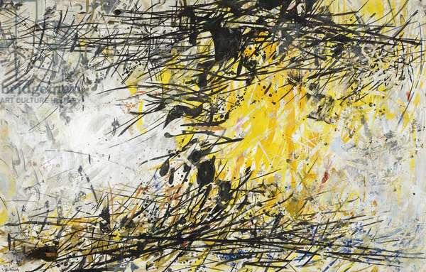 Autumn, 1966 (oil on paperboard)