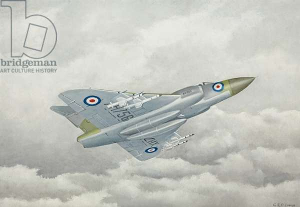 Gloster Aircraft, Javelin, 1924-62 (oil on board)