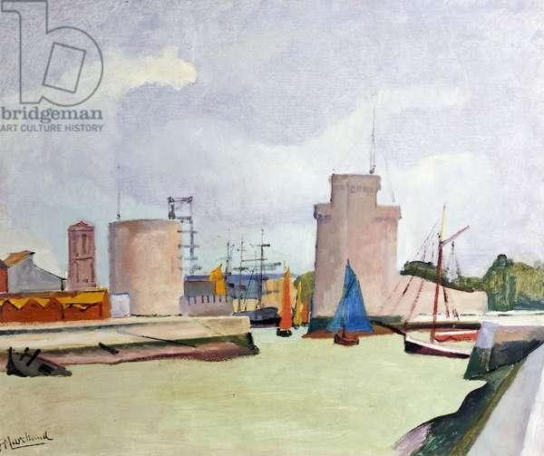 La Rochelle, France (oil on canvas)