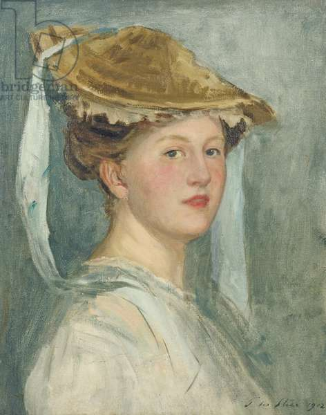 Lady Clare Annesley, before 1912 (oil on canvas)