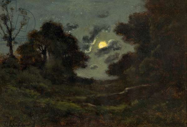 Clair de Lune, 1897 (oil on panel)