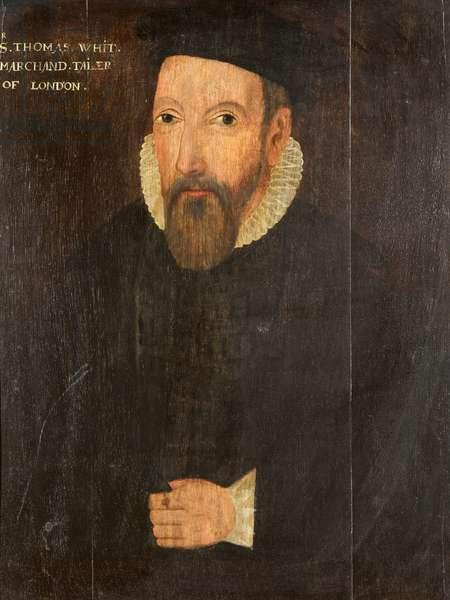 Sir Thomas White, c.1605 (oil on panel)