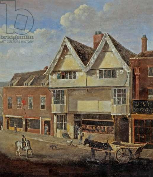 Eastgate Street Gloucester, c.1830 (oil on canvas)